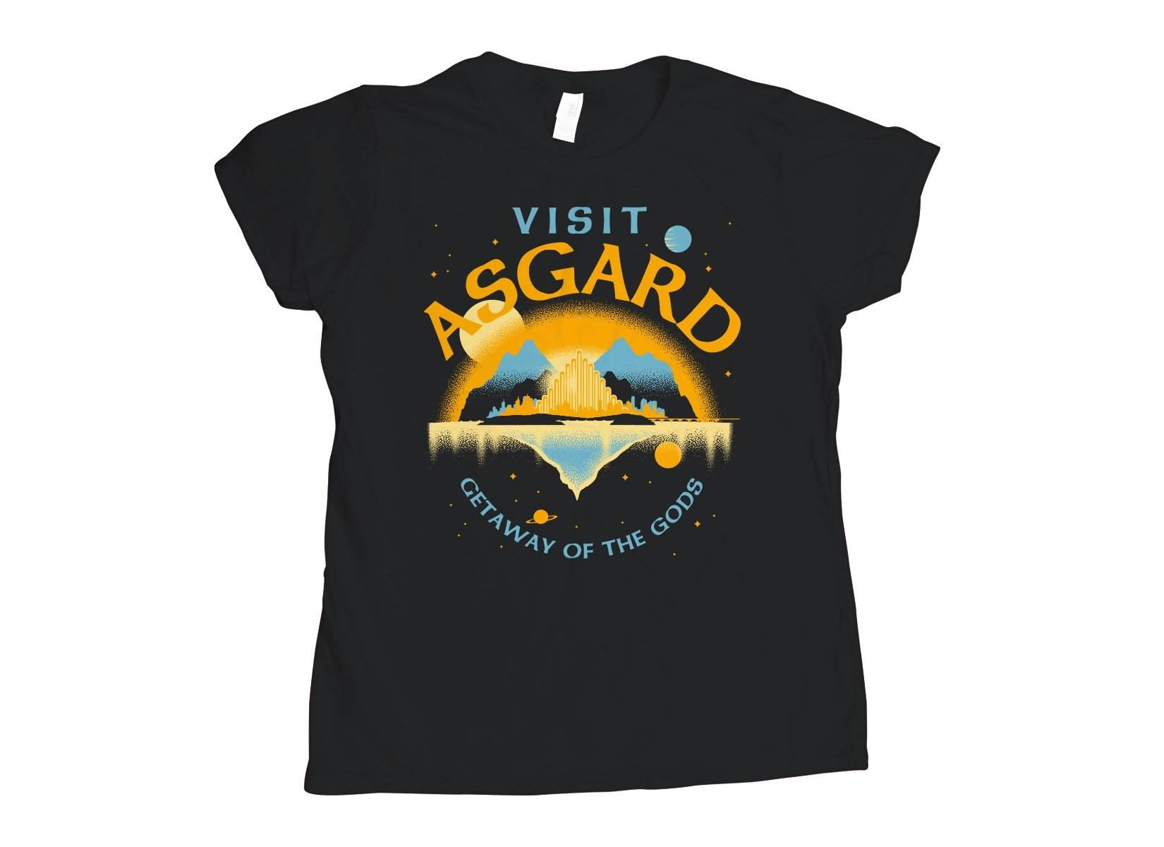 Visit Asgard on Womens T-Shirt