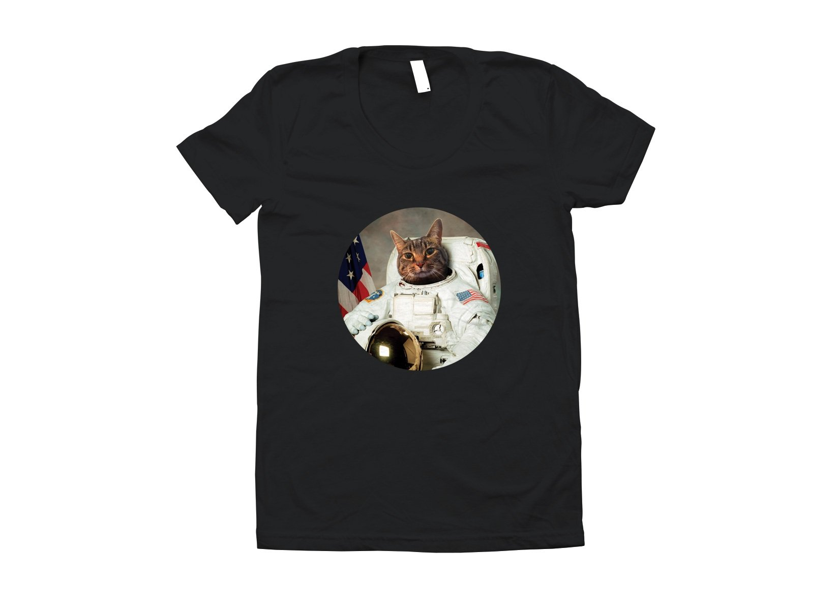 Astrocat on Juniors T-Shirt