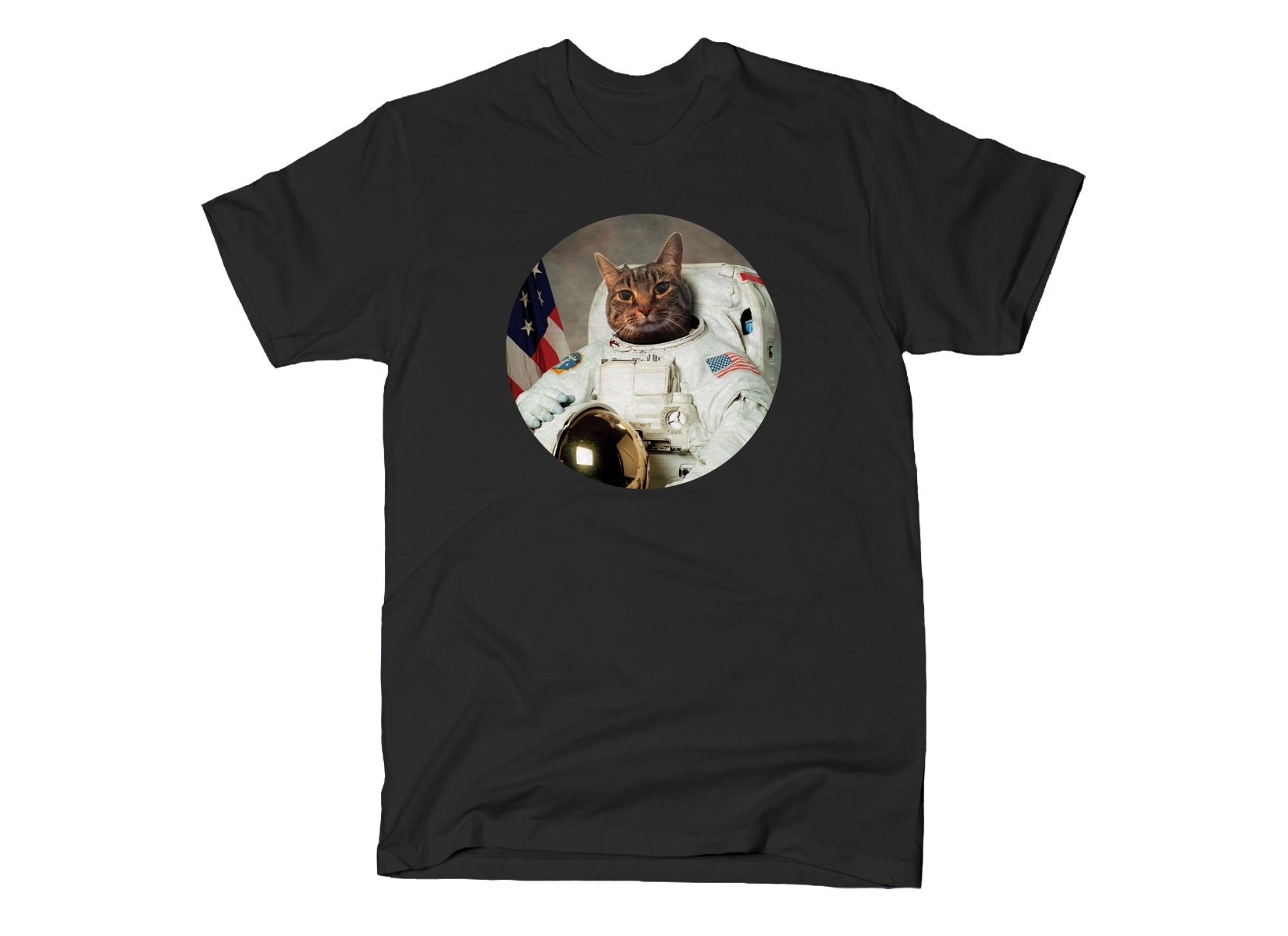 Astrocat on Mens T-Shirt