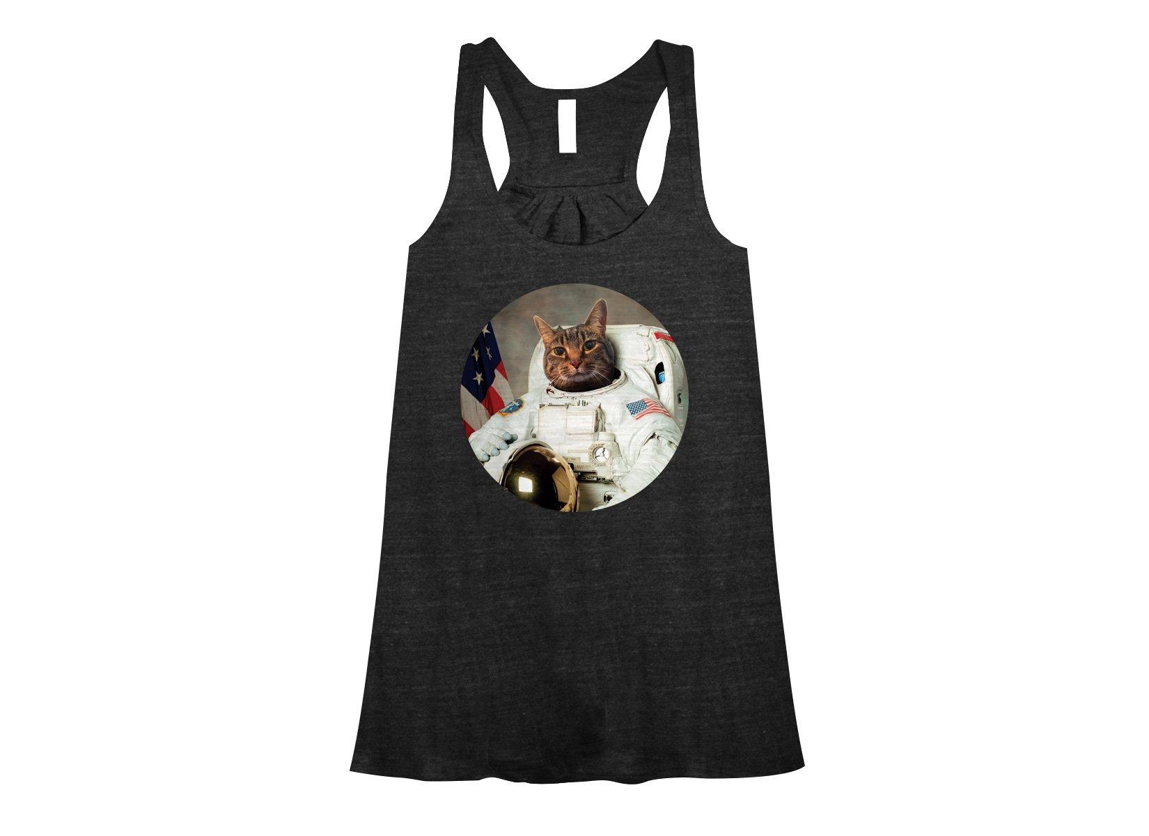 Astrocat on Womens Tanks T-Shirt