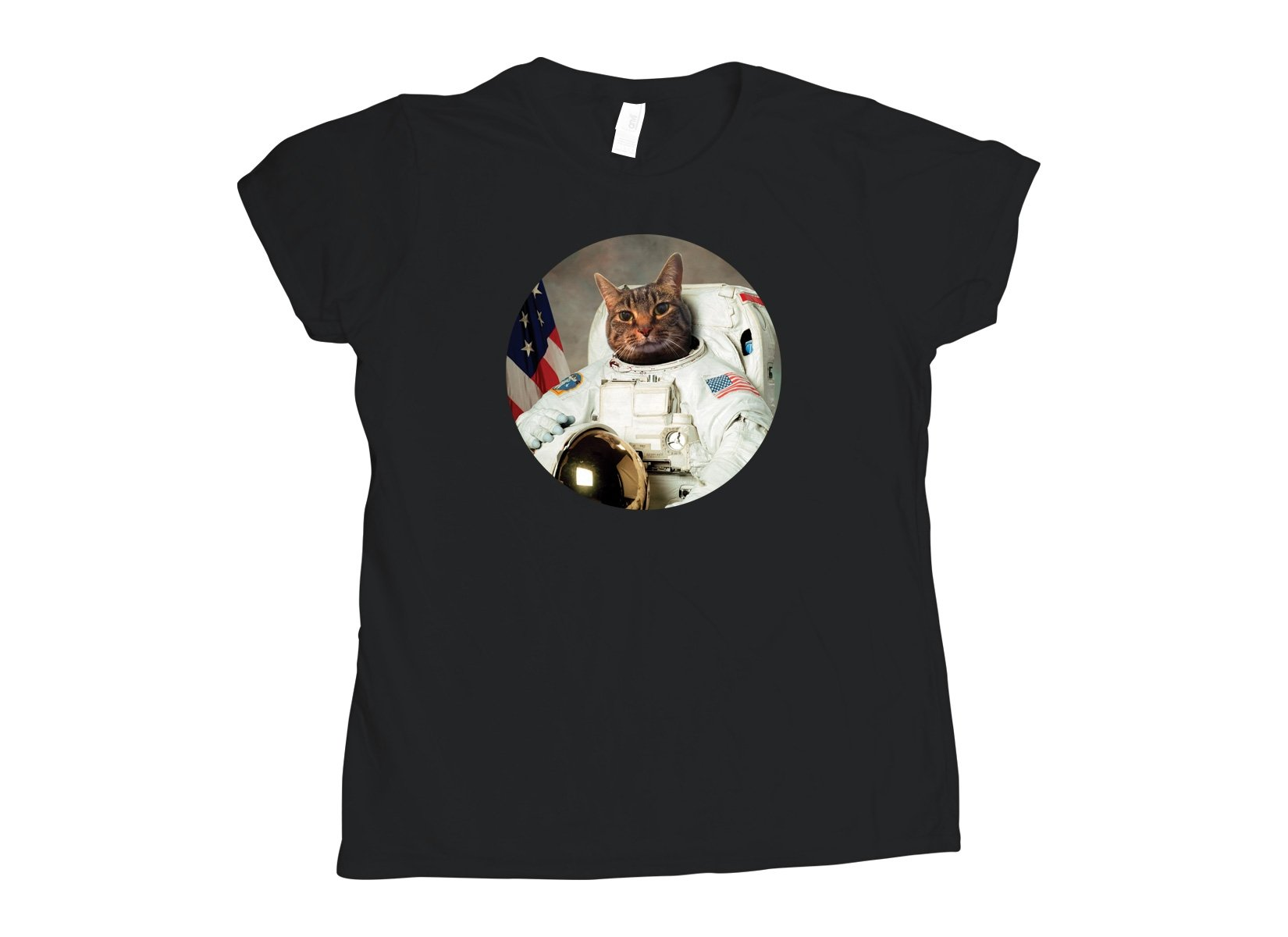 Astrocat on Womens T-Shirt