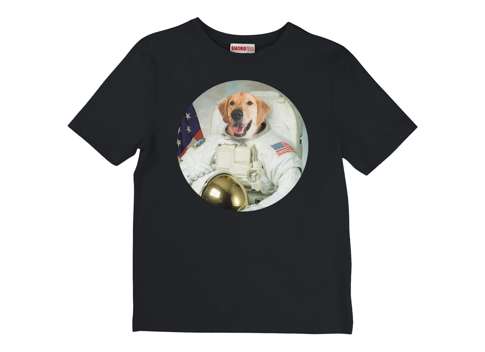Astrodog on Kids T-Shirt