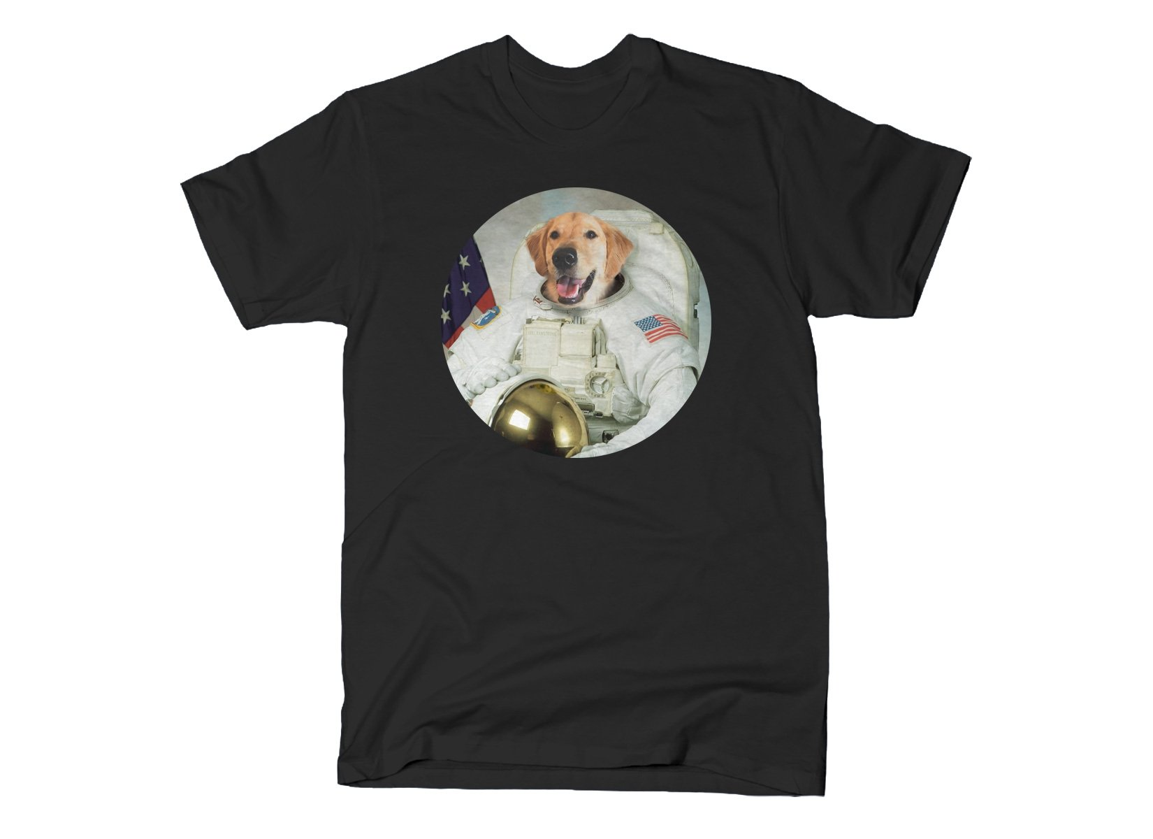 Astrodog on Mens T-Shirt