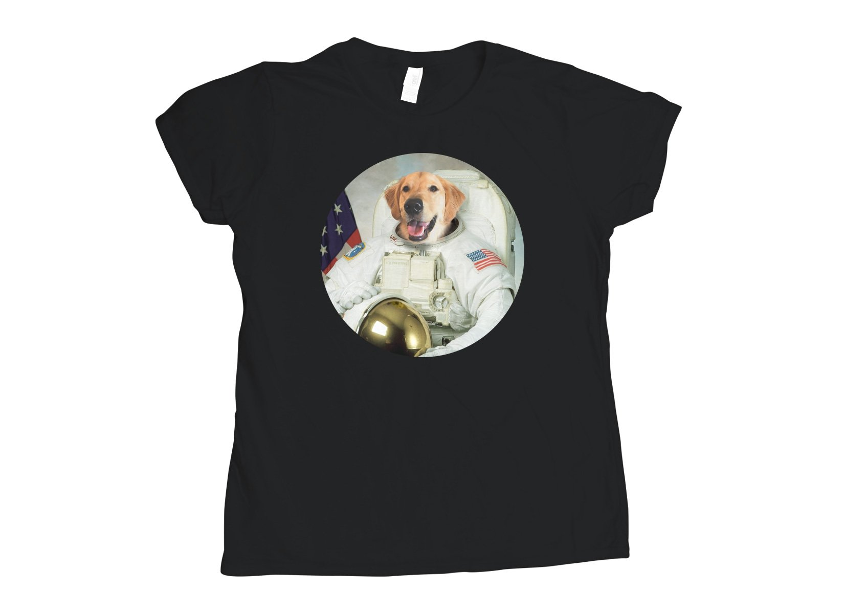 Astrodog on Womens T-Shirt