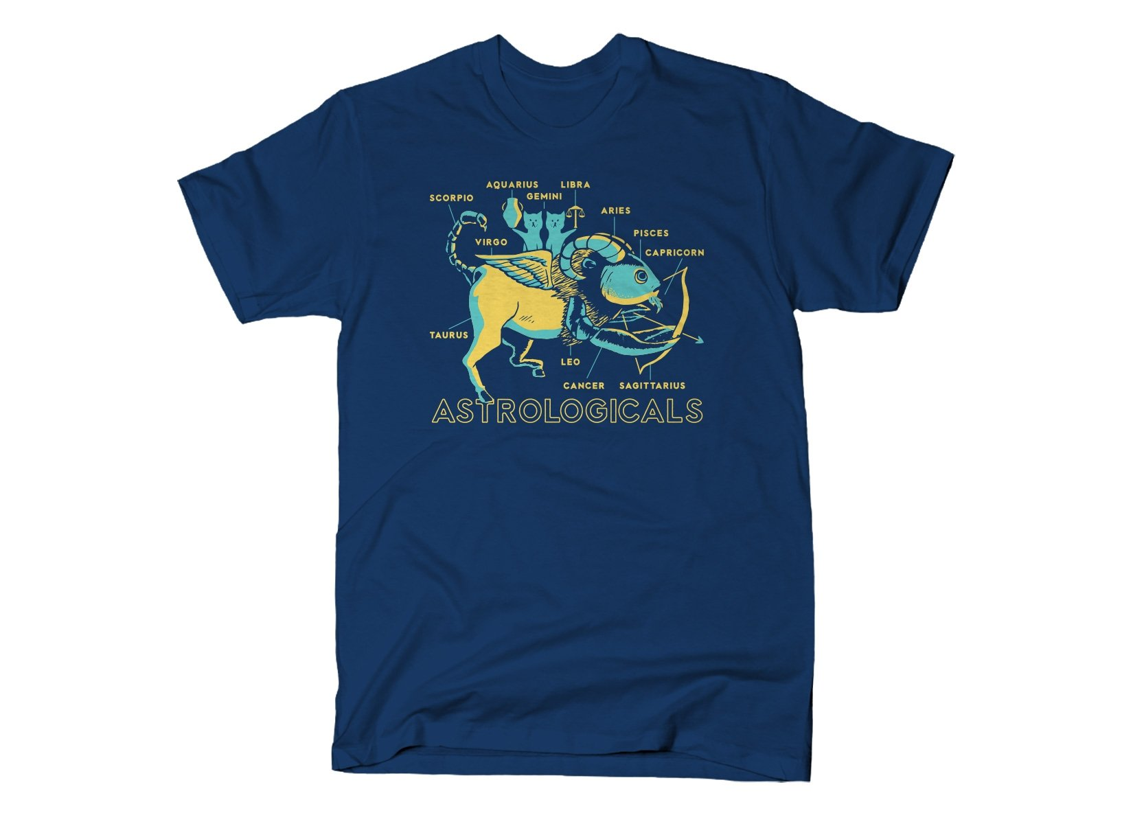 Astrologicals on Mens T-Shirt