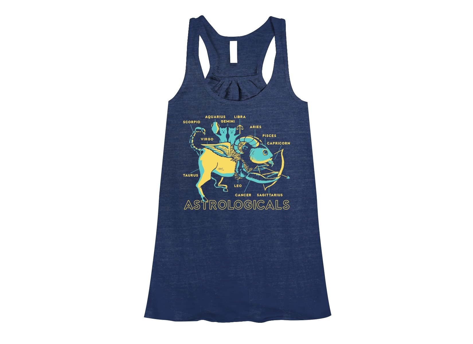 Astrologicals on Womens Tanks T-Shirt