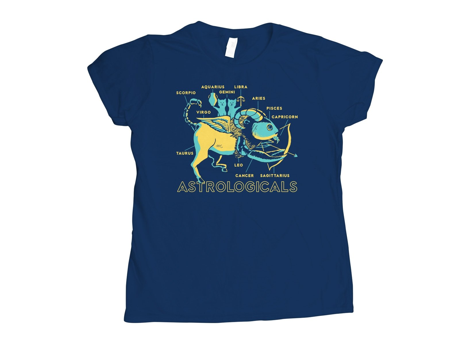 Astrologicals on Womens T-Shirt