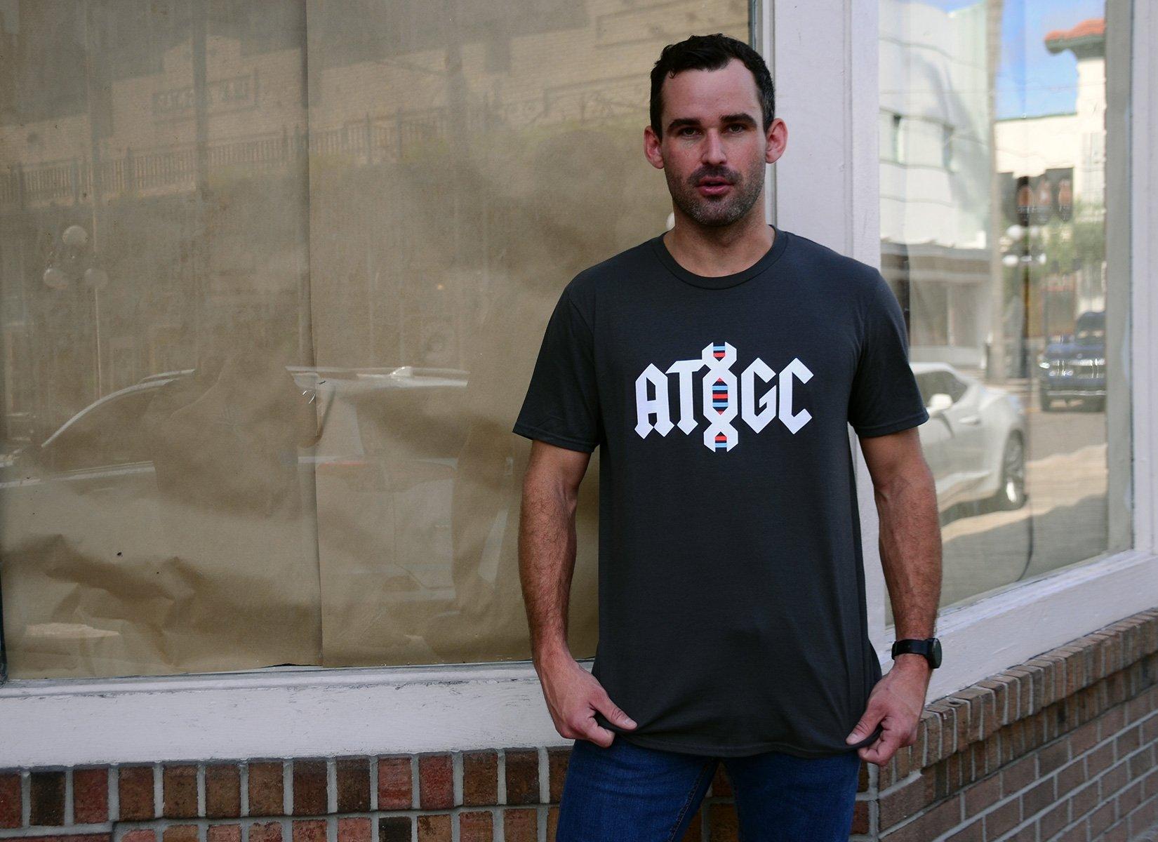 ATGC DNA on Mens T-Shirt