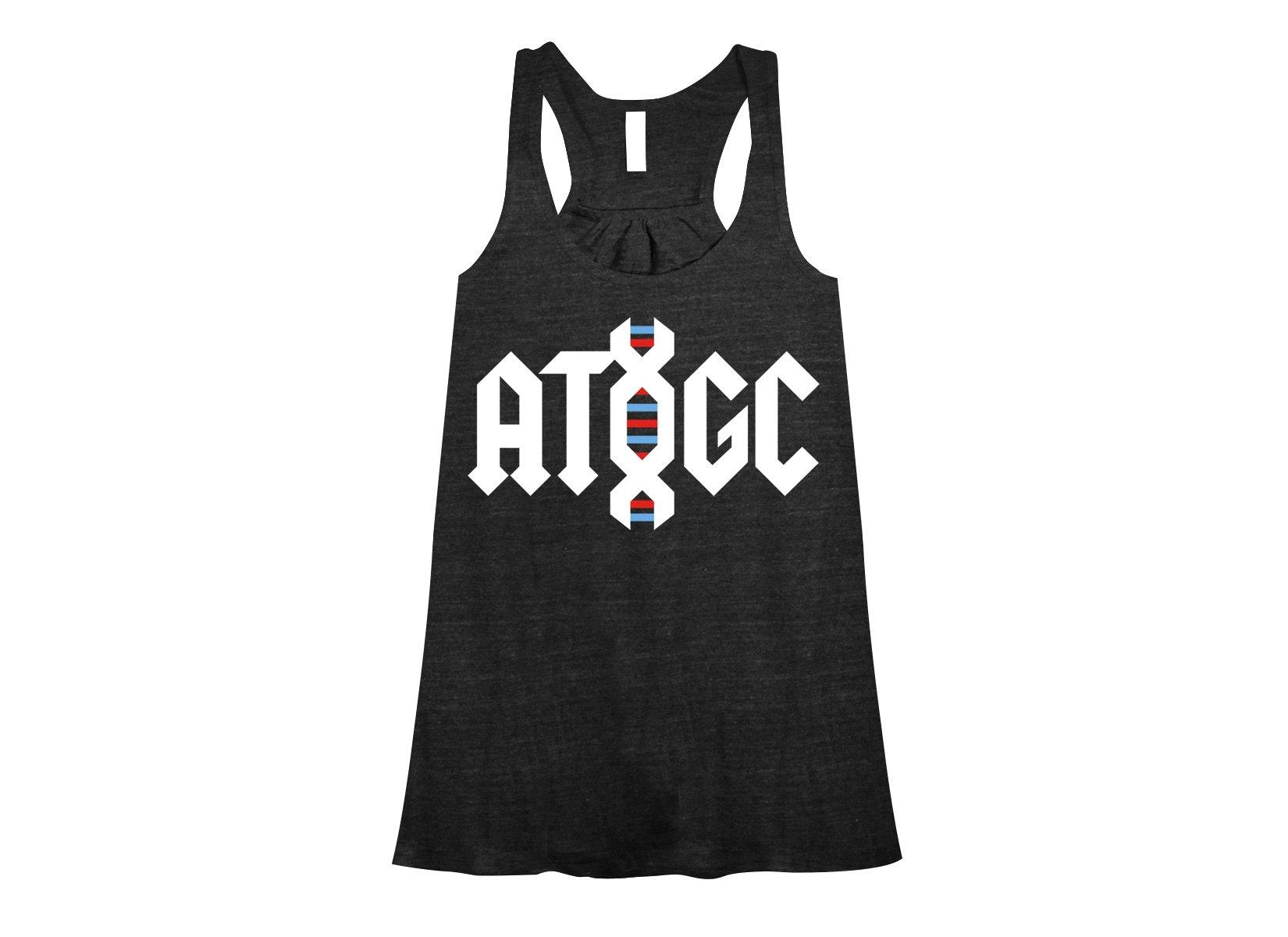 ATGC DNA on Womens Tanks T-Shirt
