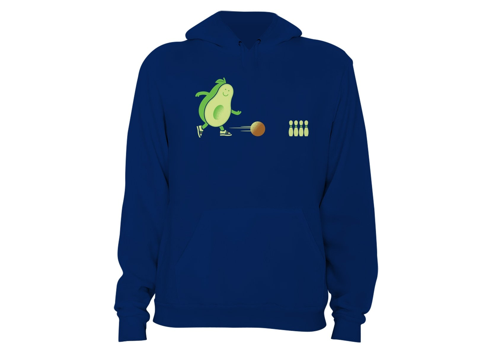 Avocado Bowl on Hoodie