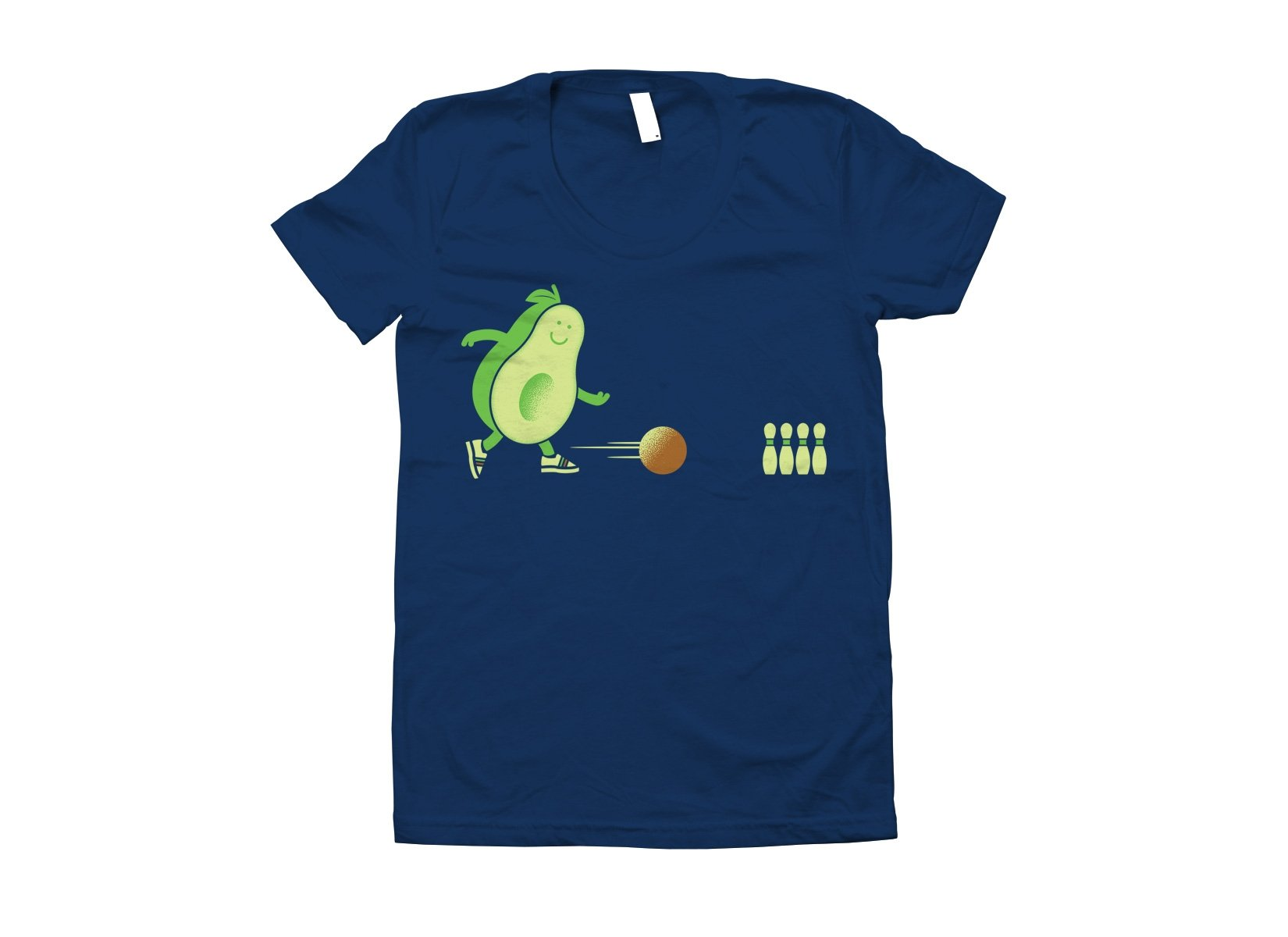 Avocado Bowl on Juniors T-Shirt