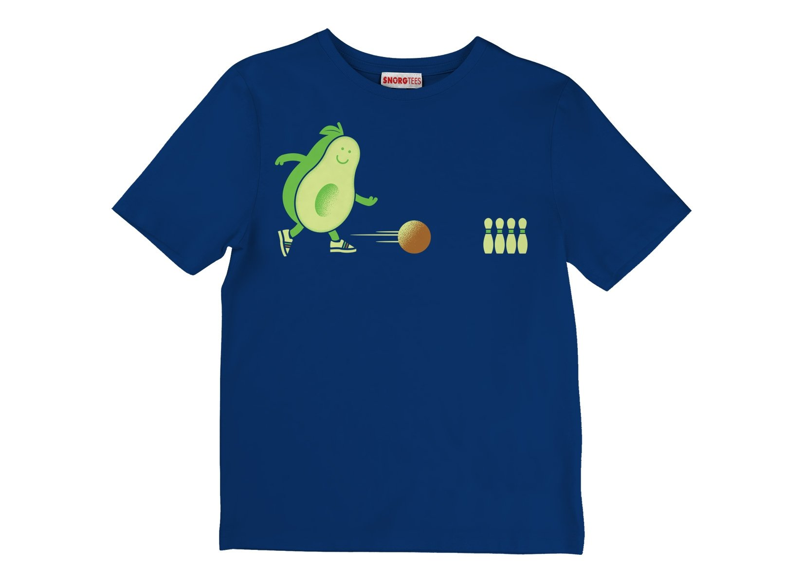 Avocado Bowl on Kids T-Shirt