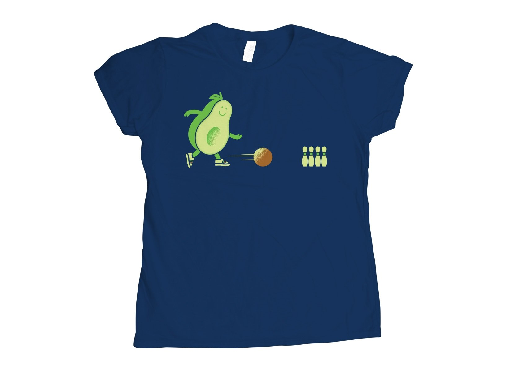 Avocado Bowl on Womens T-Shirt