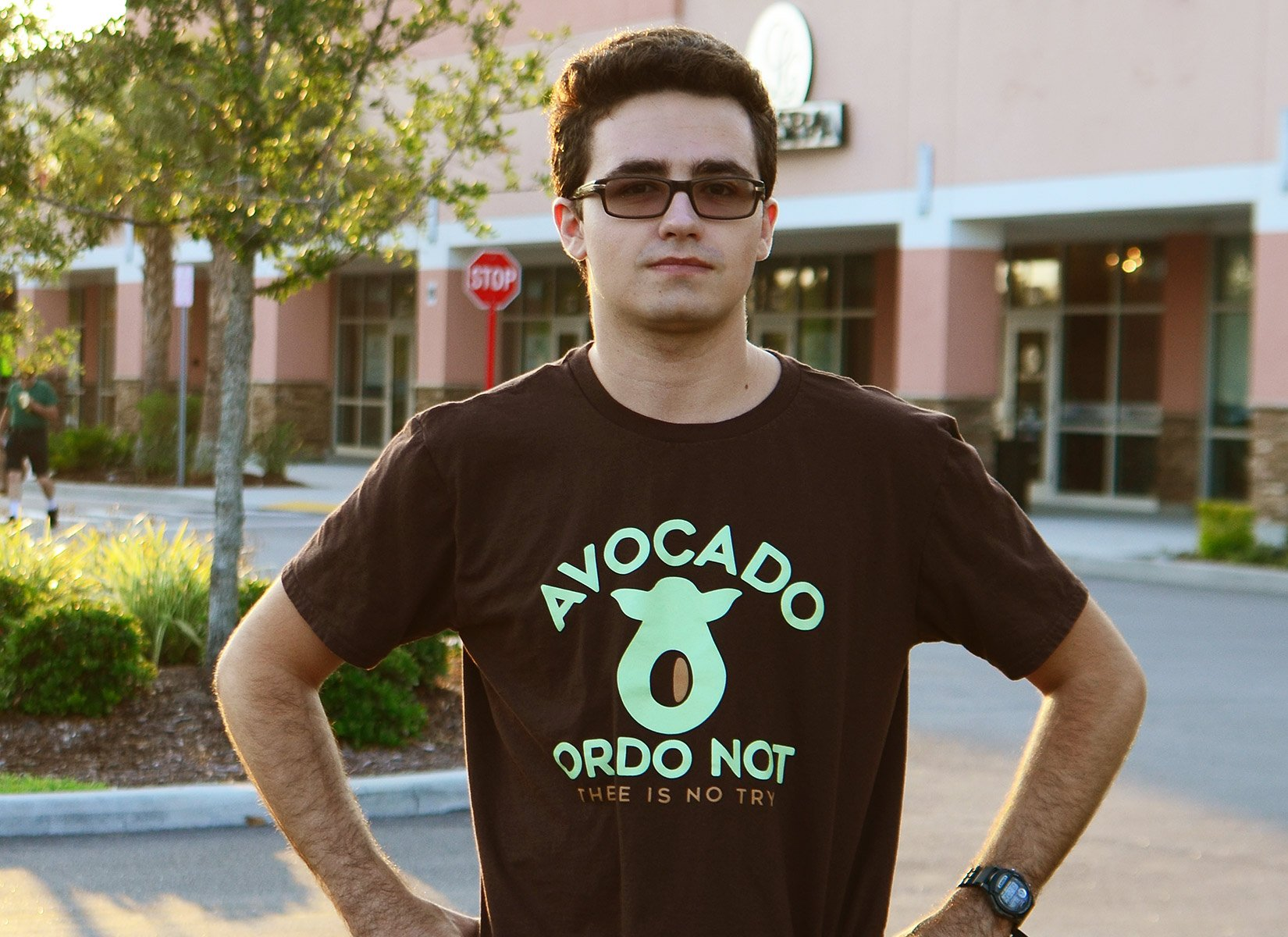 Avocado Or Do Not on Mens T-Shirt