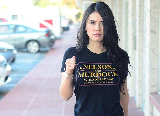 Nelson And Murdock on Juniors T-Shirt