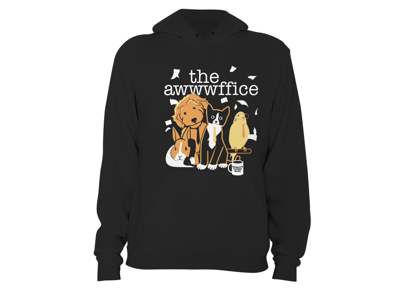 The Awwwffice on Hoodie