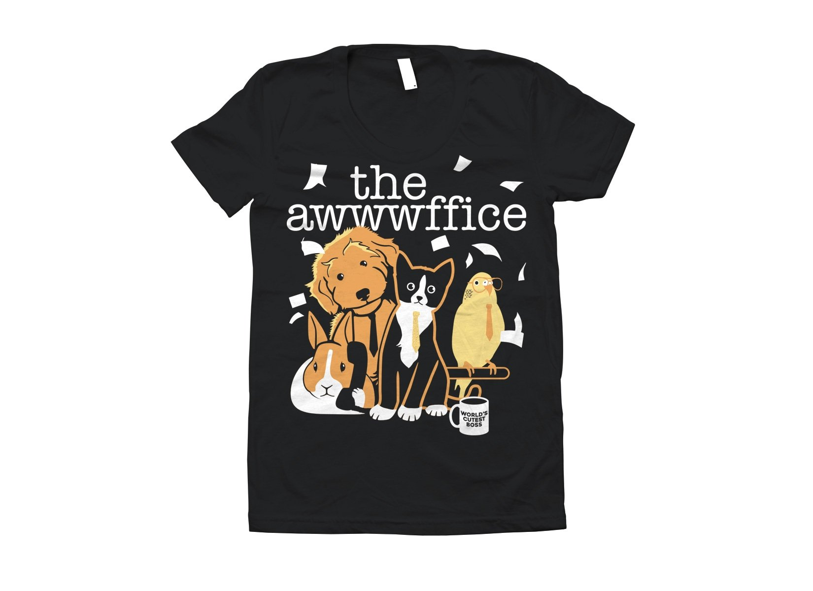 The Awwwffice on Juniors T-Shirt
