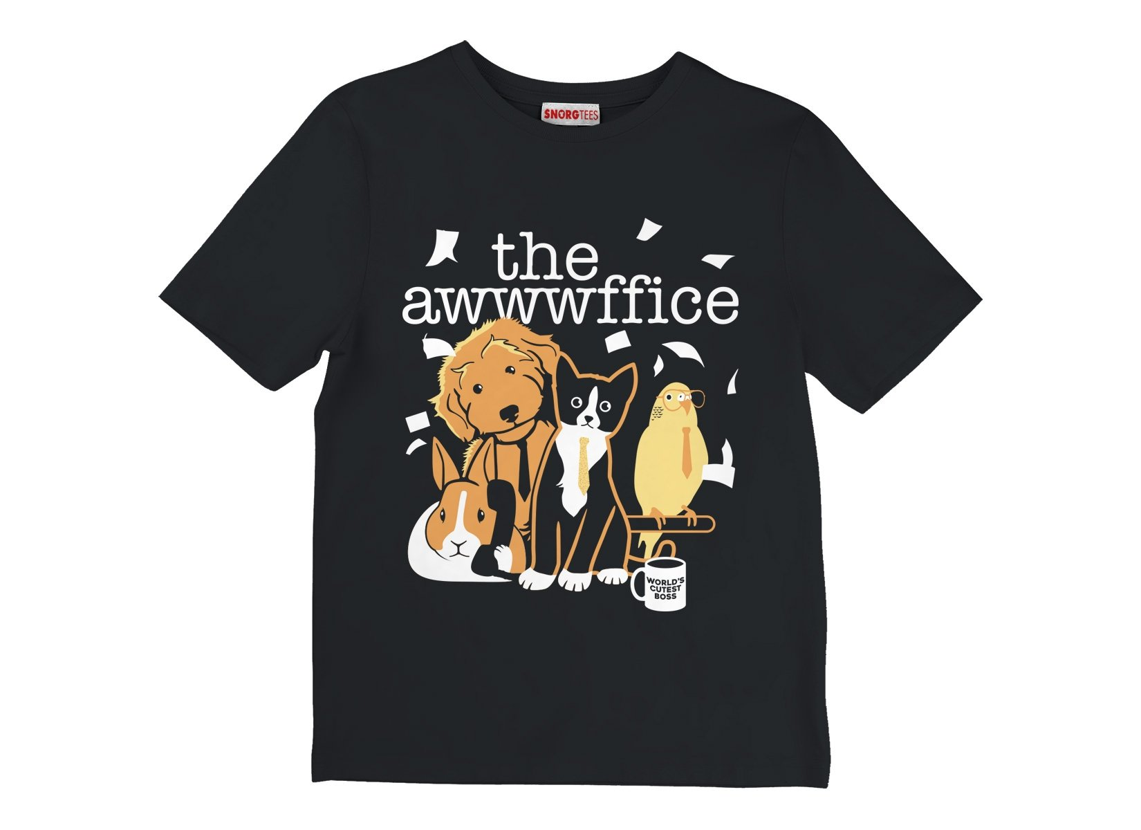 The Awwwffice on Kids T-Shirt