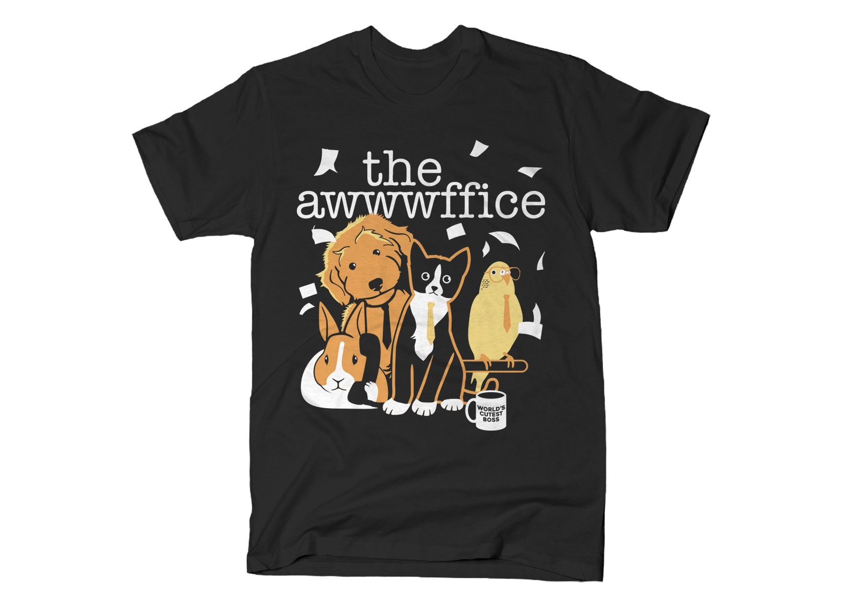 The Awwwffice on Mens T-Shirt