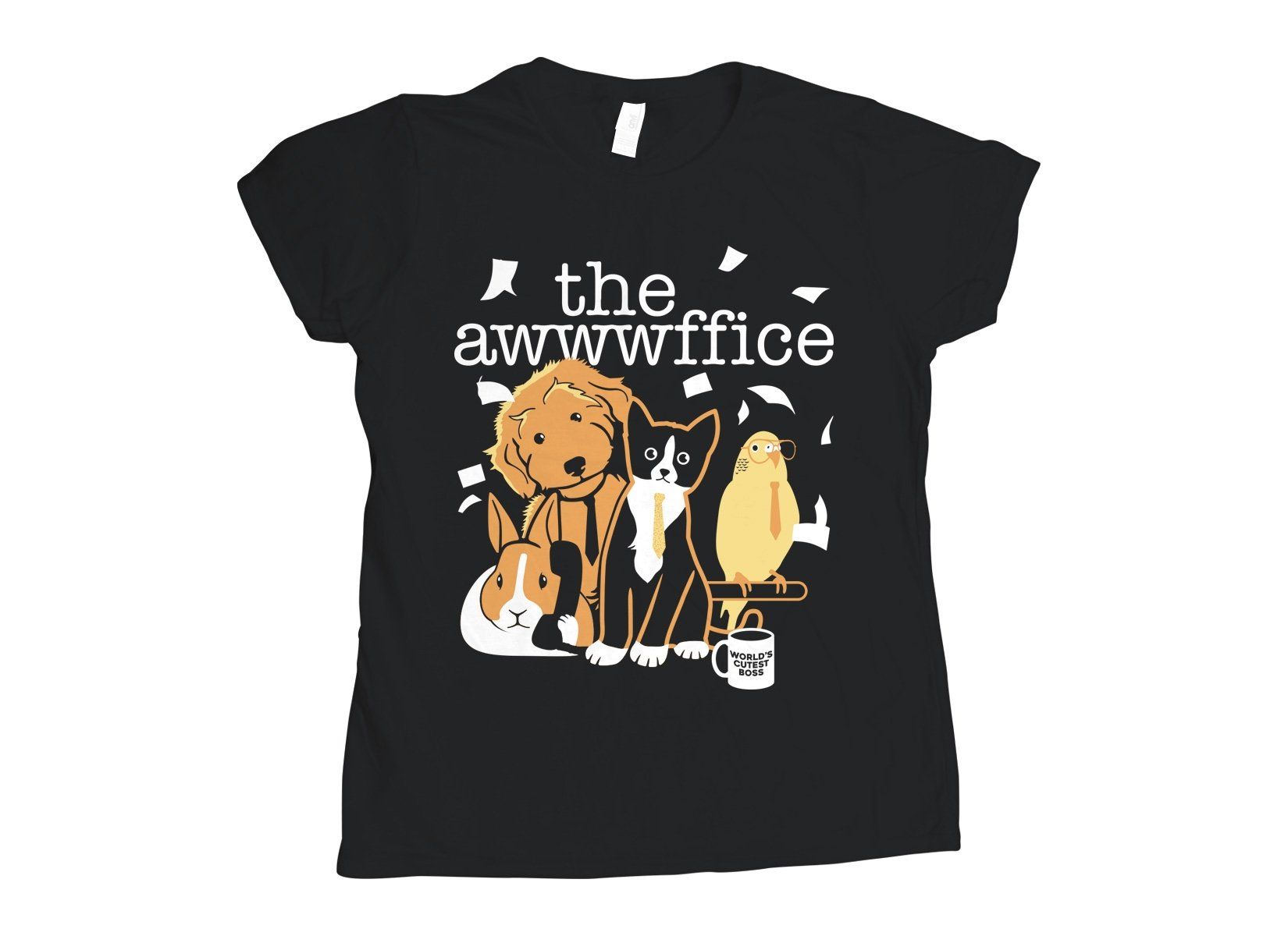 The Awwwffice on Womens T-Shirt