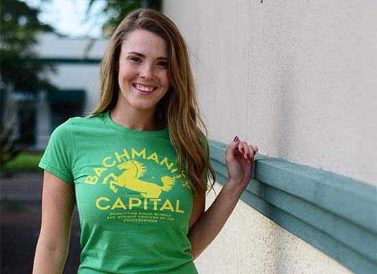 Bachmanity Capital on Juniors T-Shirt