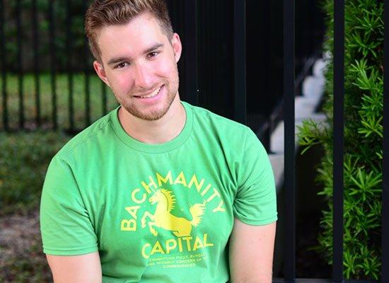 Bachmanity Capital on Mens T-Shirt
