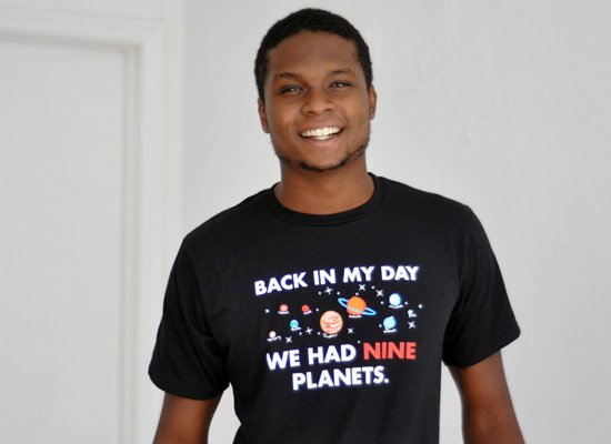 Back In My Day We Had Nine Planets on Mens T-Shirt