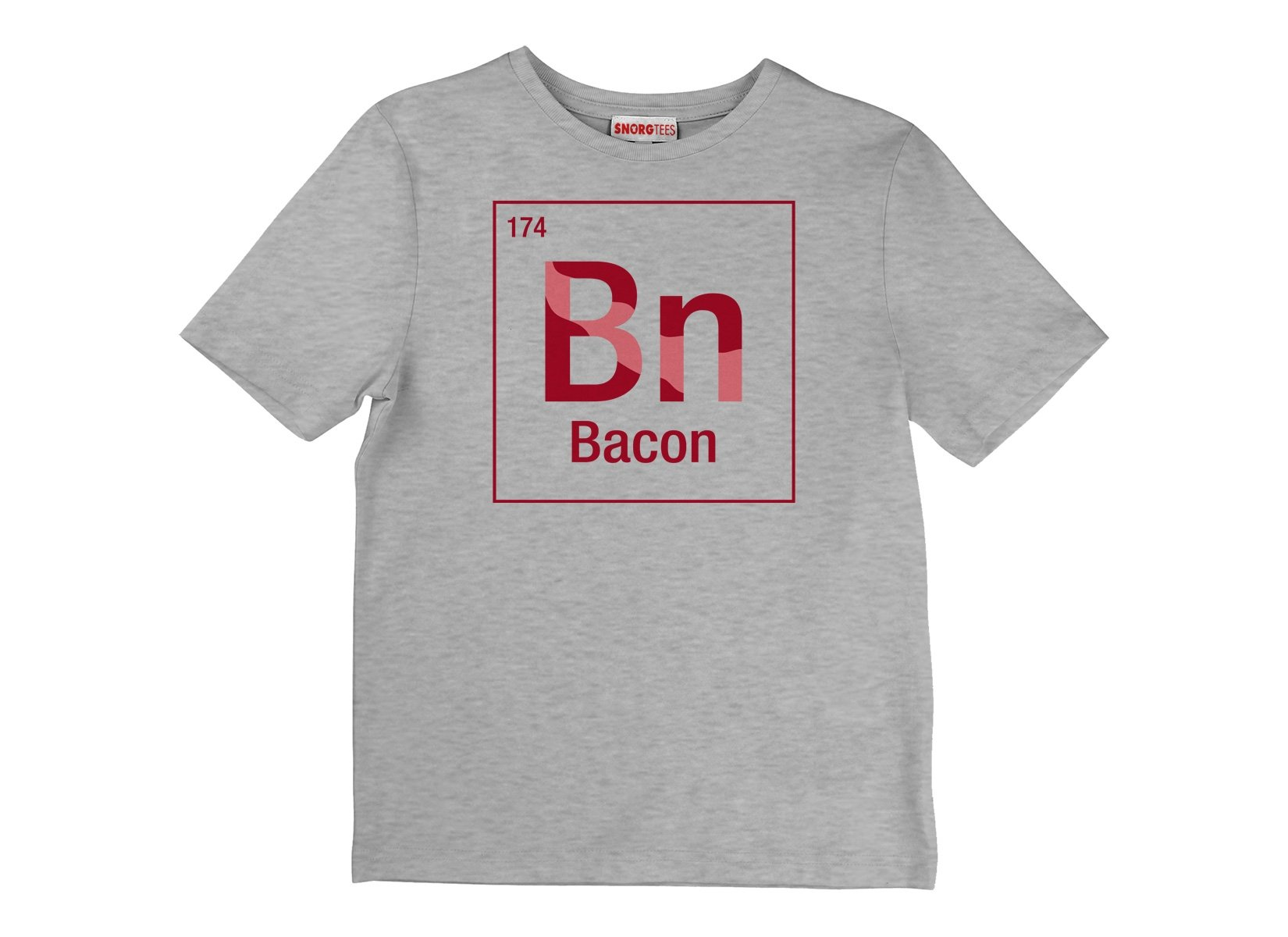 Bacon Element on Kids T-Shirt