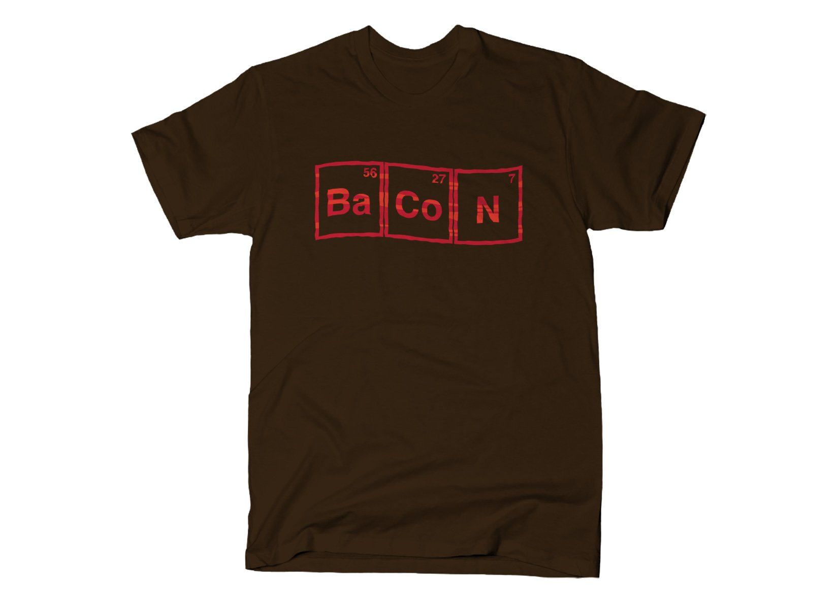 Bacon Compound on Mens T-Shirt