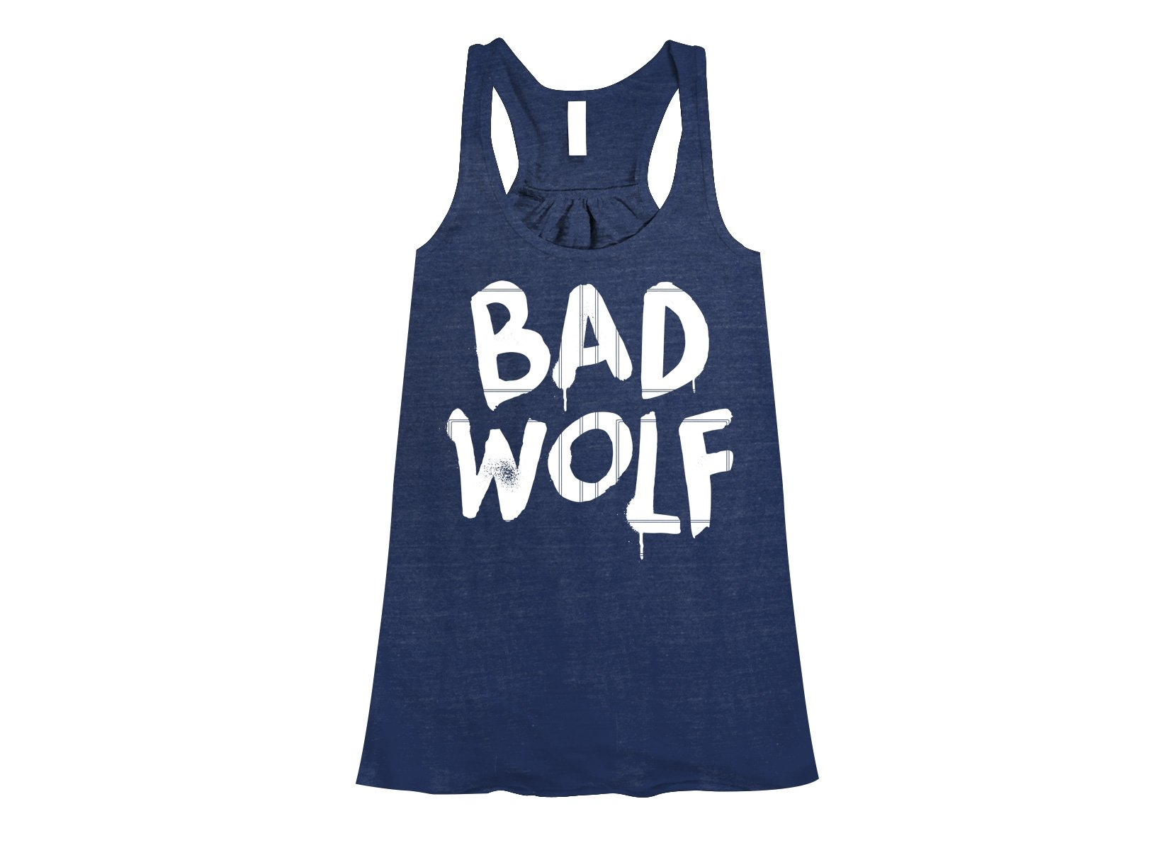 Bad Wolf on Womens Tanks T-Shirt
