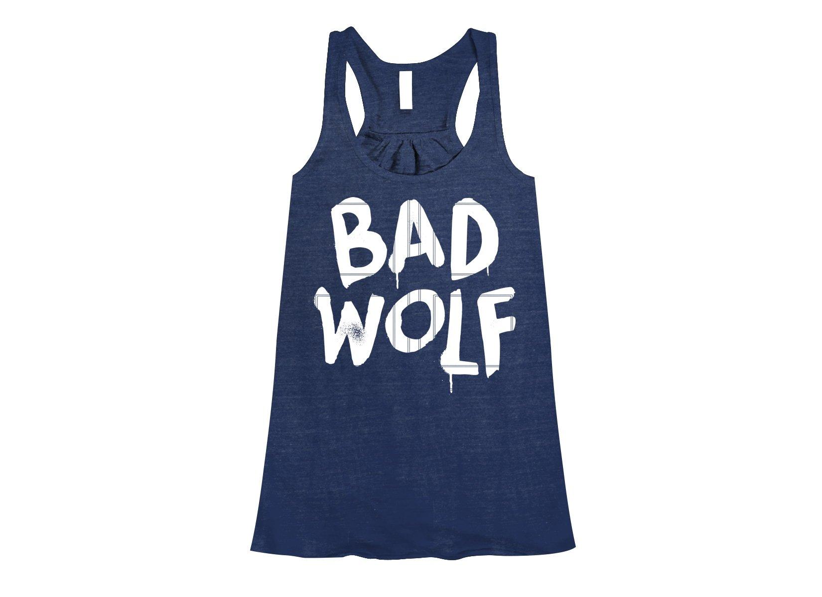Bad Wolf on Womens Tanks T-Shirt