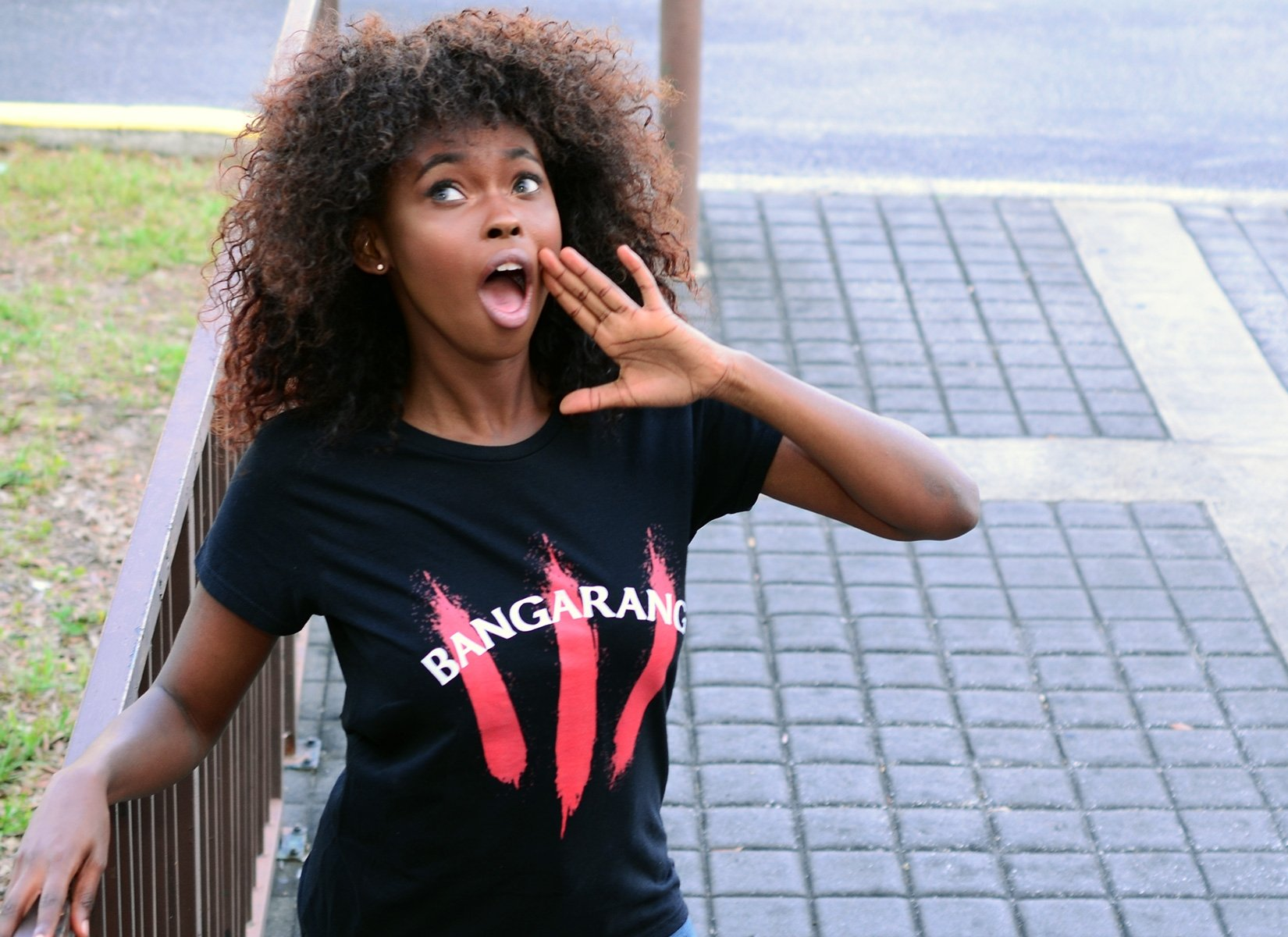 Bangarang on Womens T-Shirt