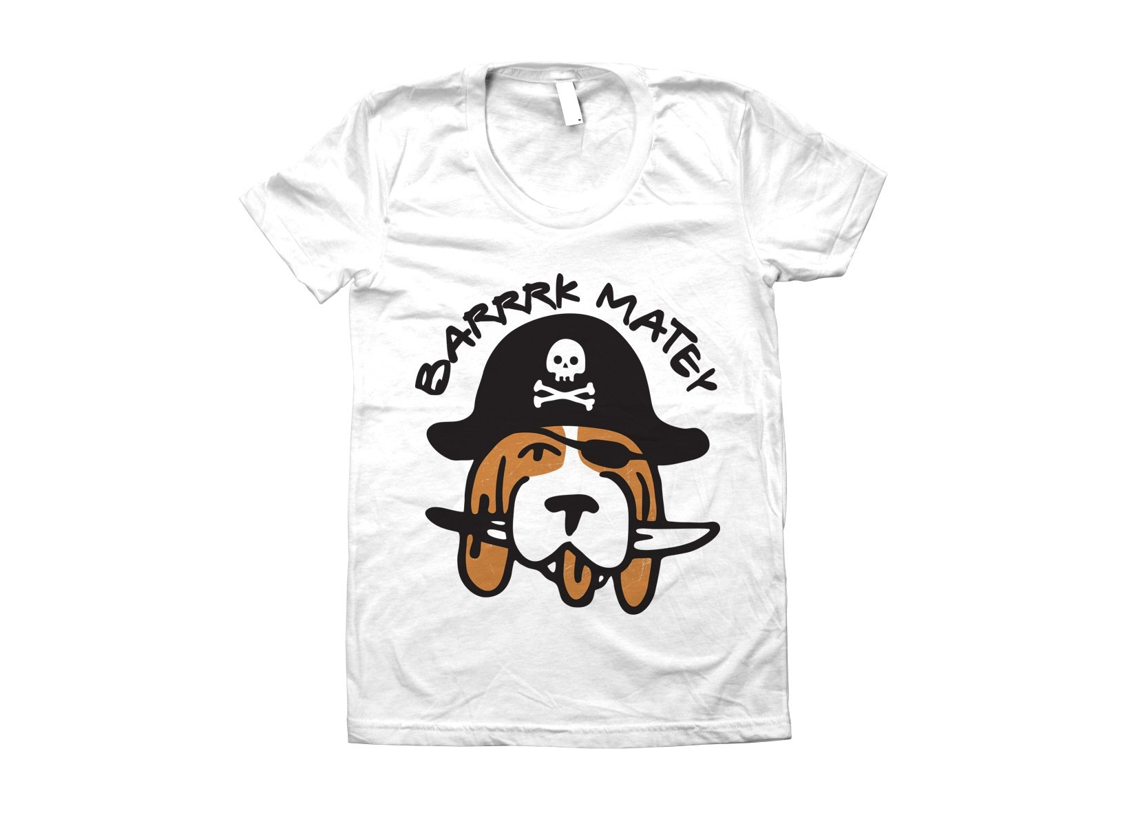 Barrrk Matey on Juniors T-Shirt
