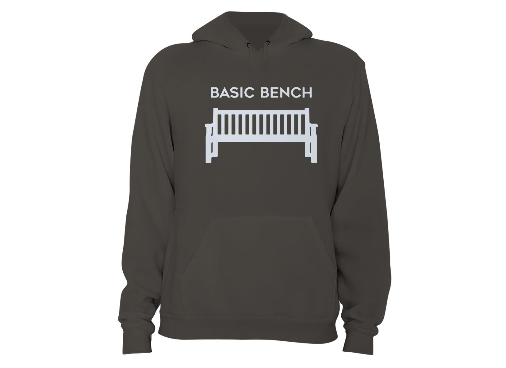 Basic Bench on Hoodie