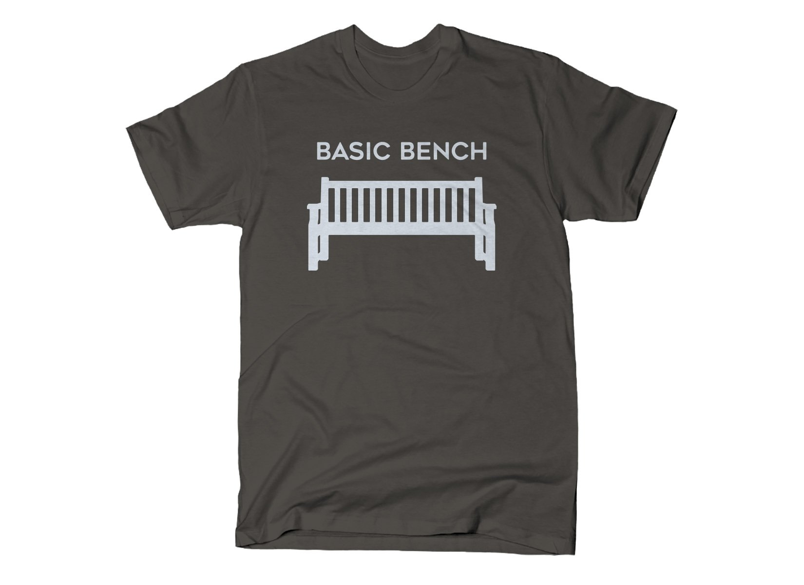Basic Bench on Mens T-Shirt