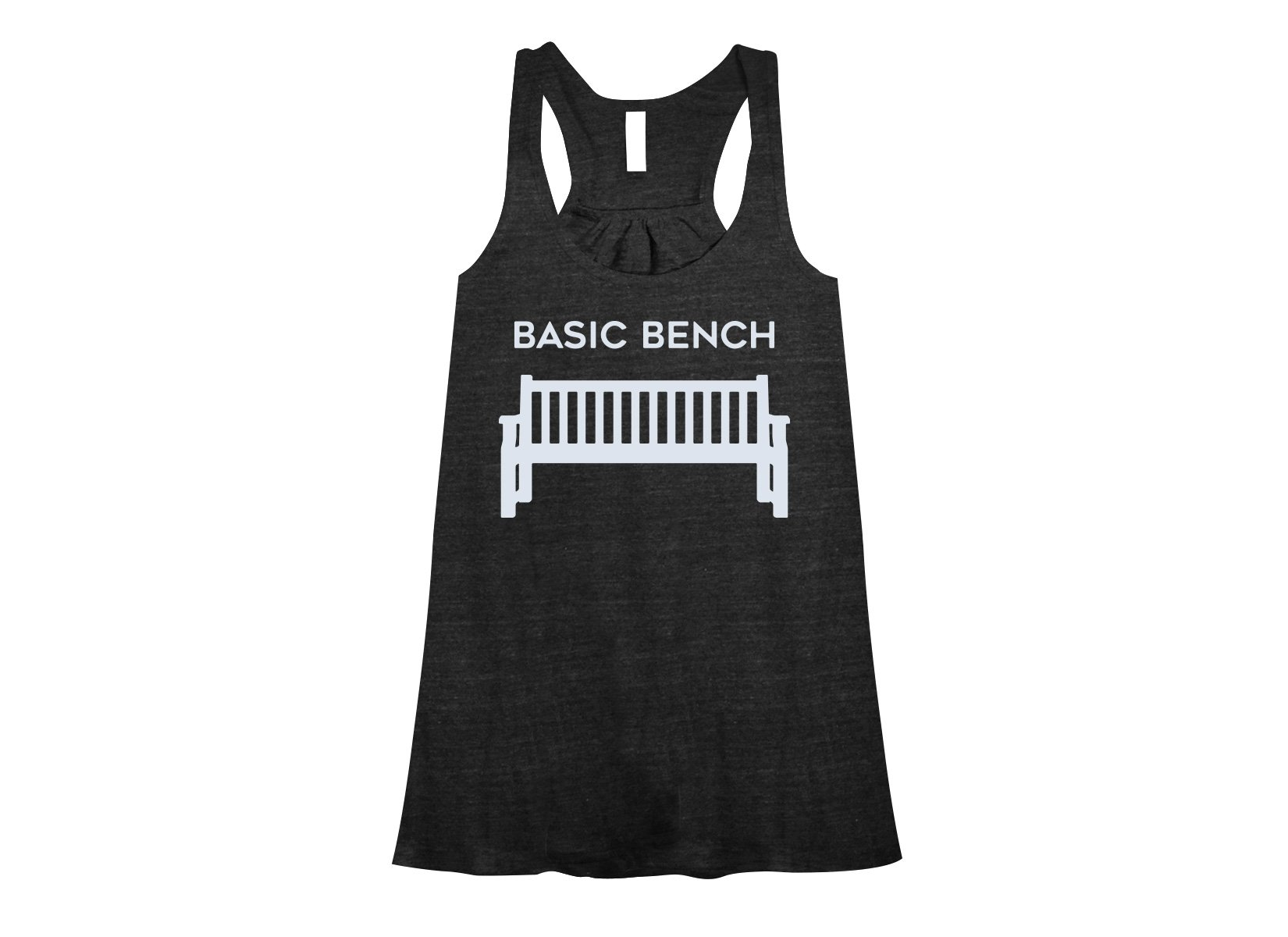 Basic Bench on Womens Tanks T-Shirt