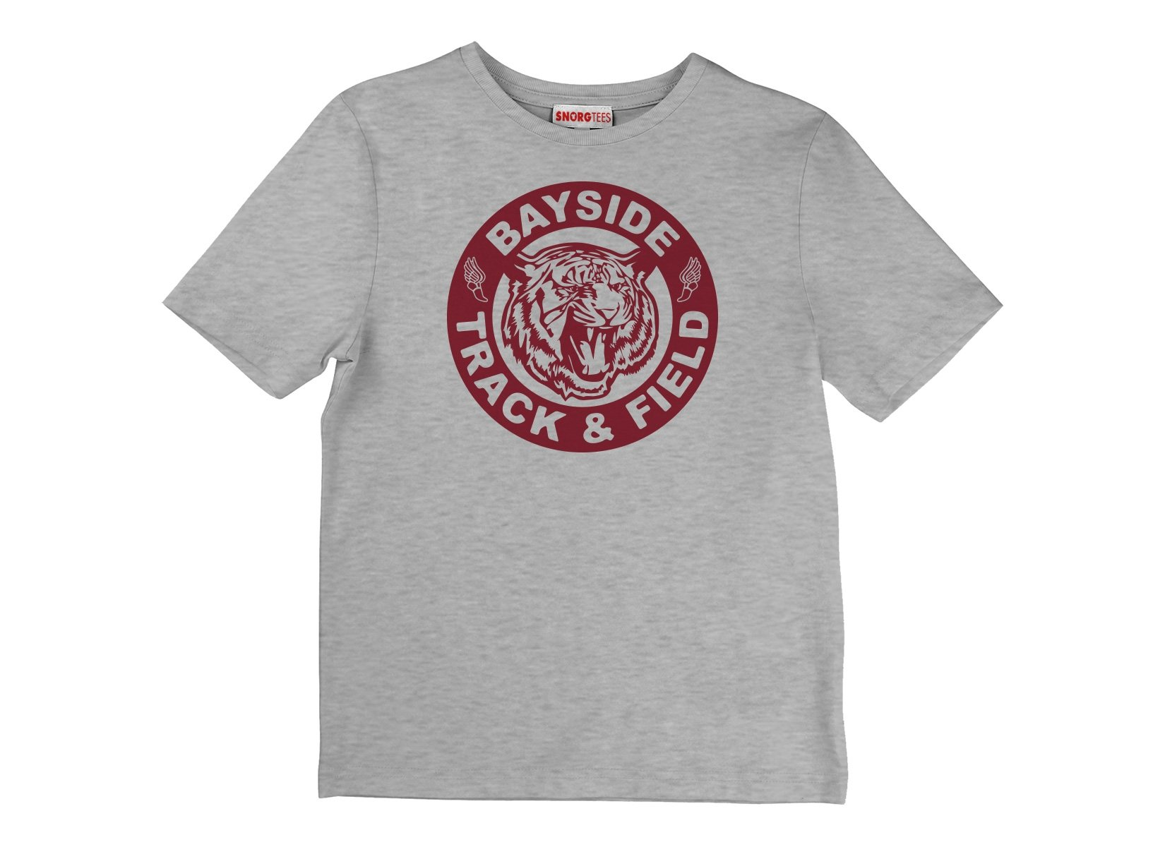 Bayside Track & Field on Kids T-Shirt