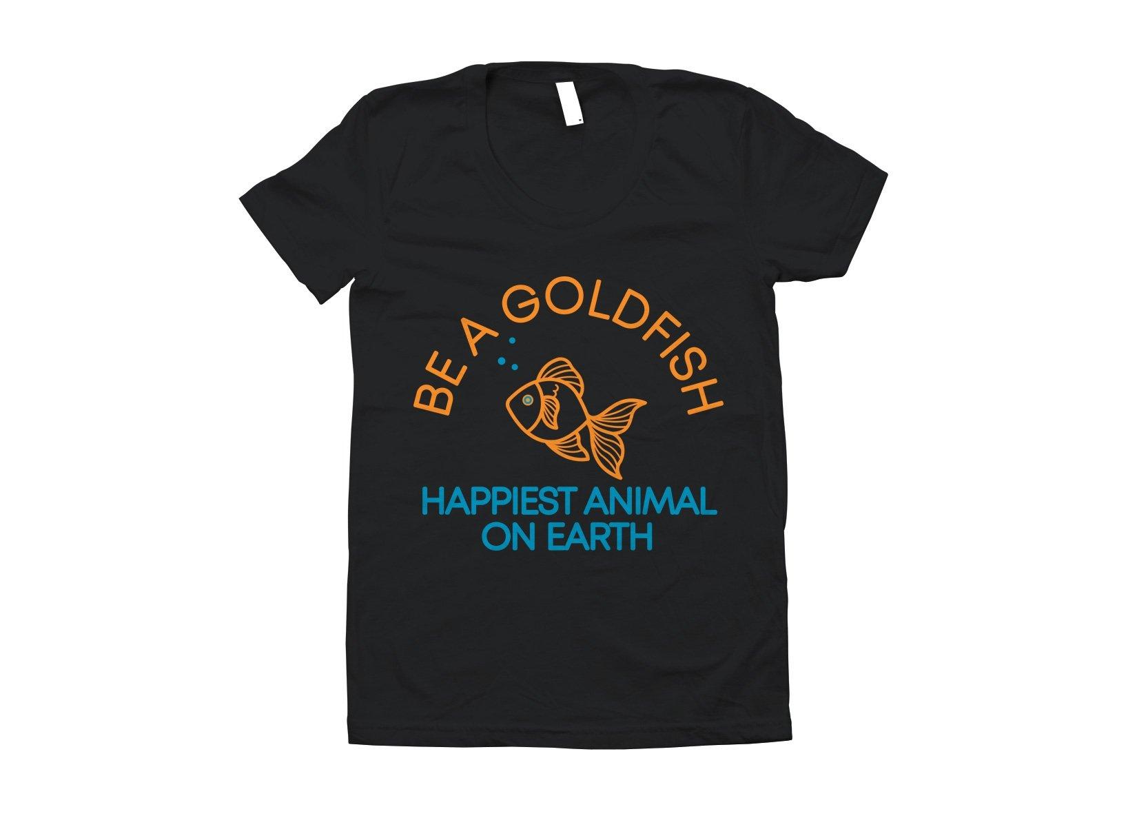 Be A Goldfish on Juniors T-Shirt