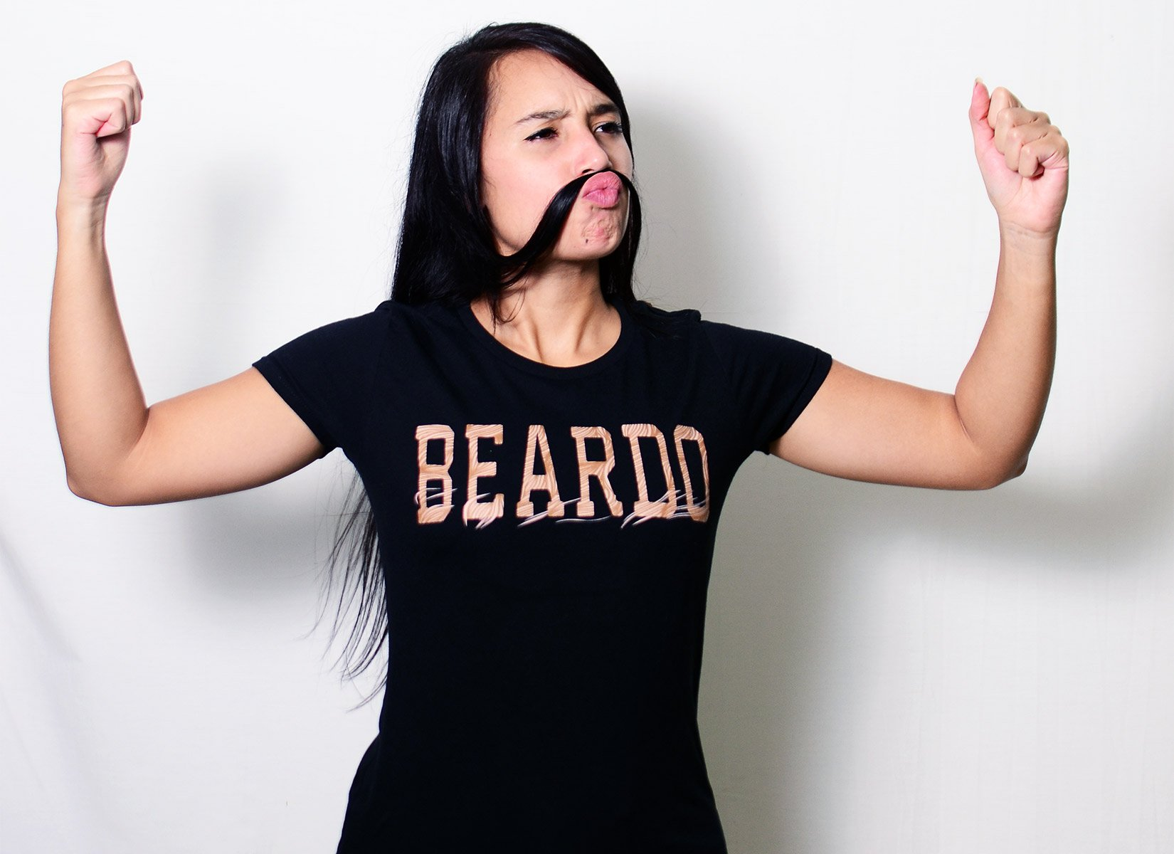 Beardo on Womens T-Shirt