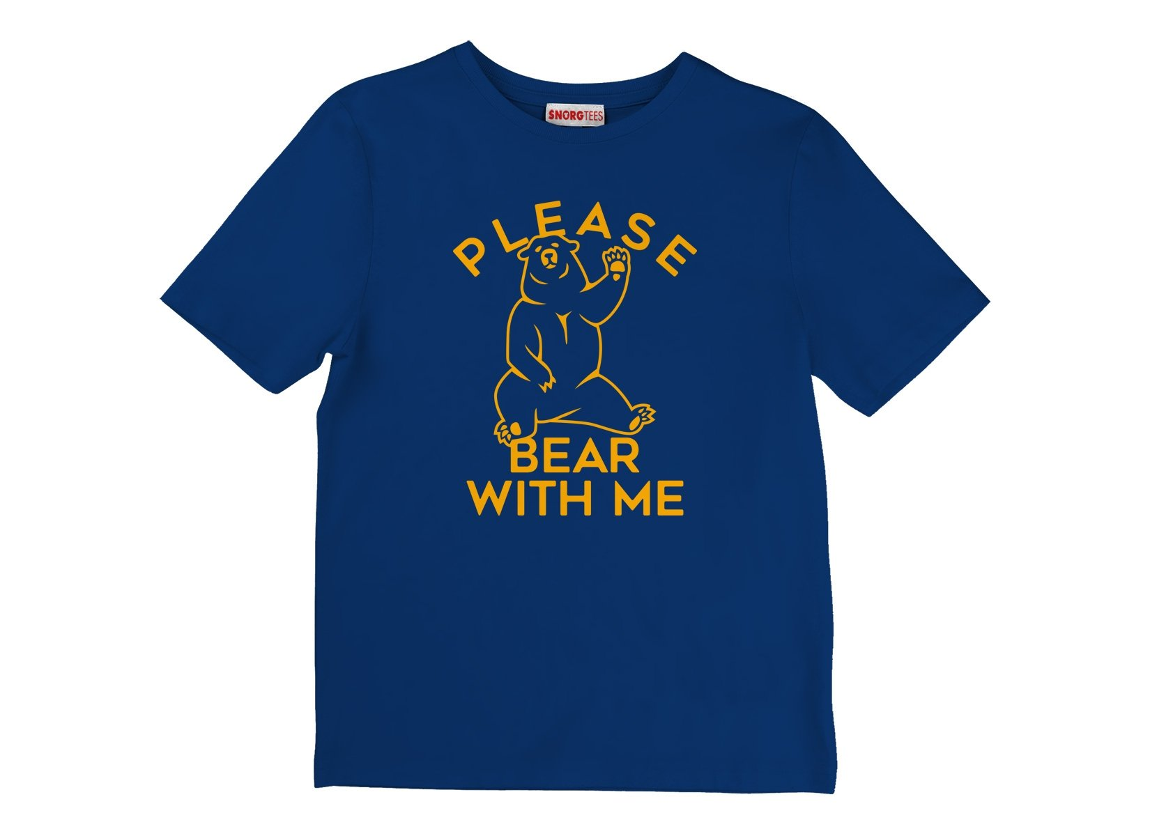Please Bear With Me on Kids T-Shirt
