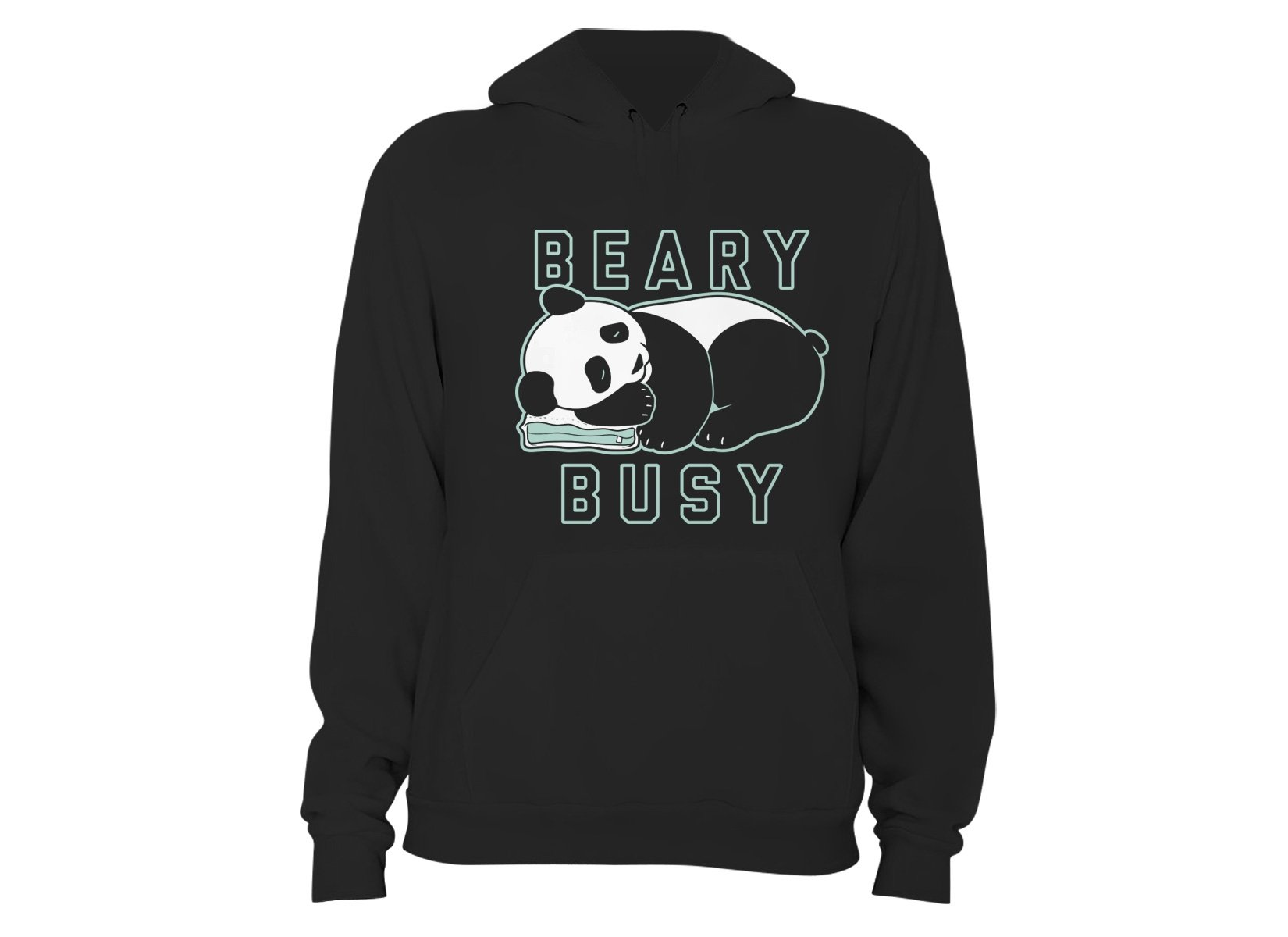 Beary Busy on Hoodie