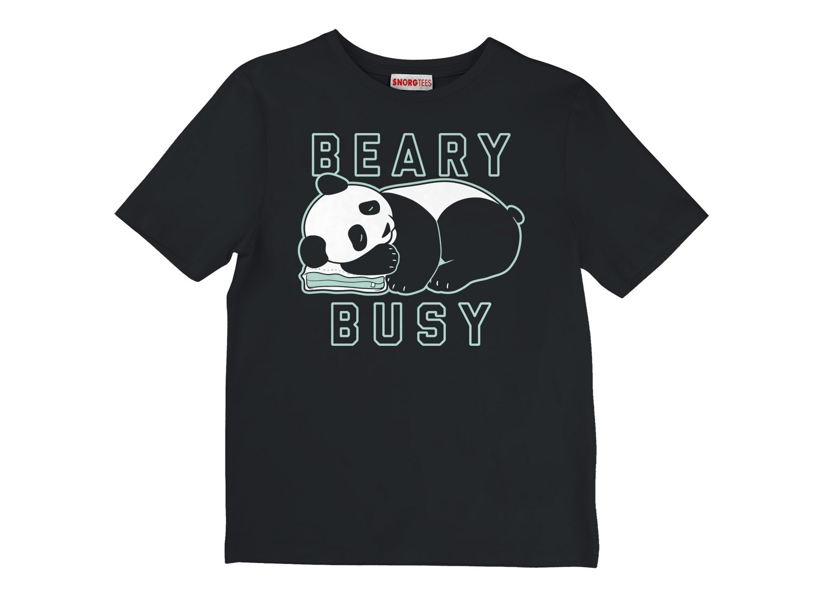 Beary Busy on Kids T-Shirt