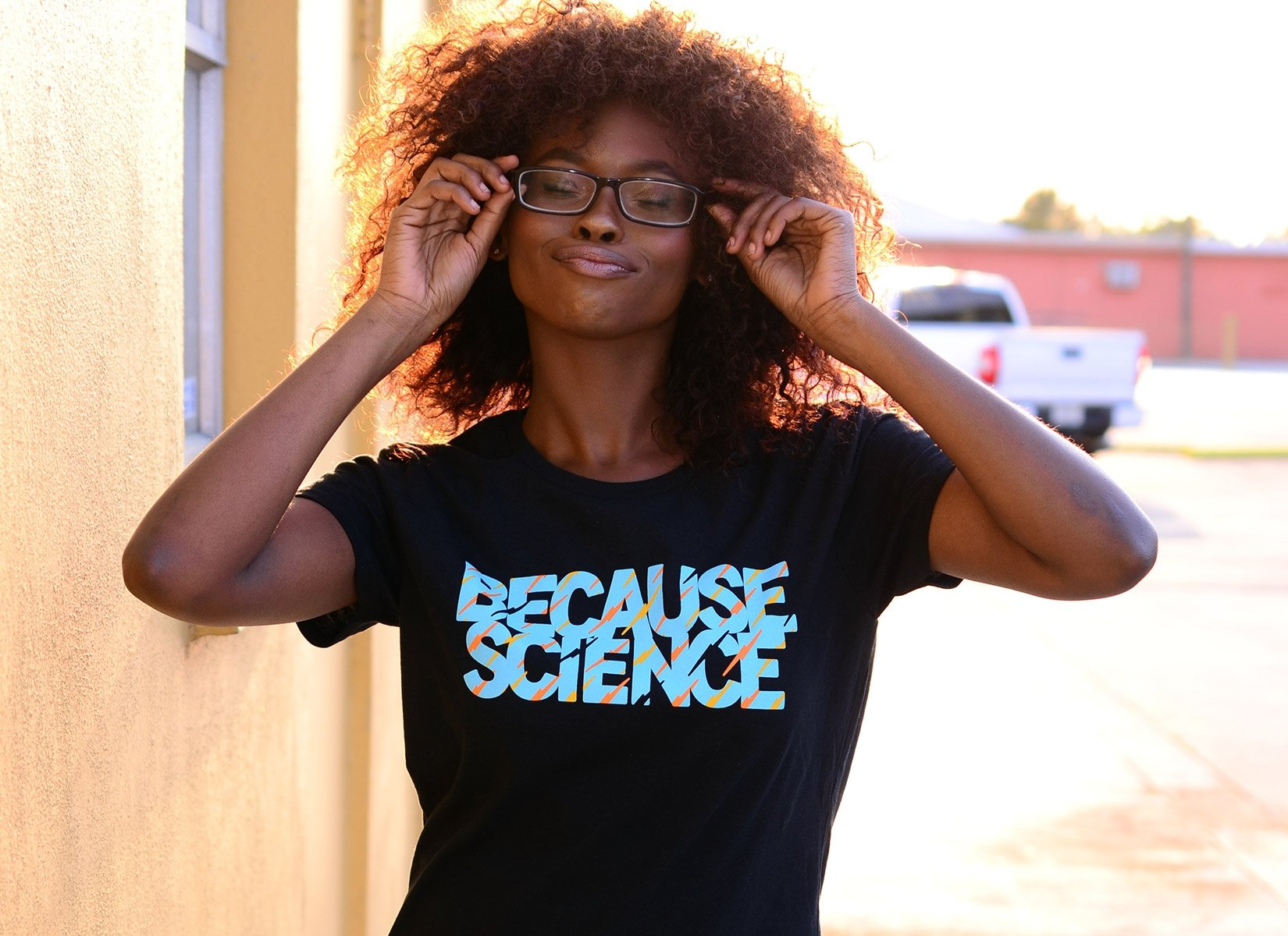 Because Science on Womens T-Shirt