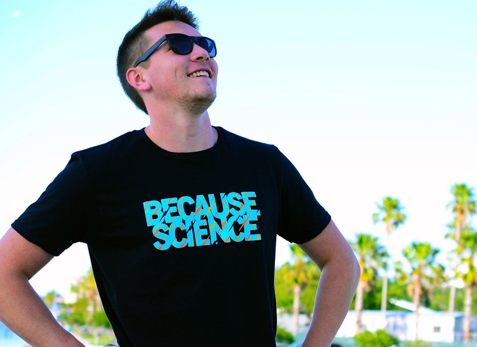 Because Science on Mens T-Shirt