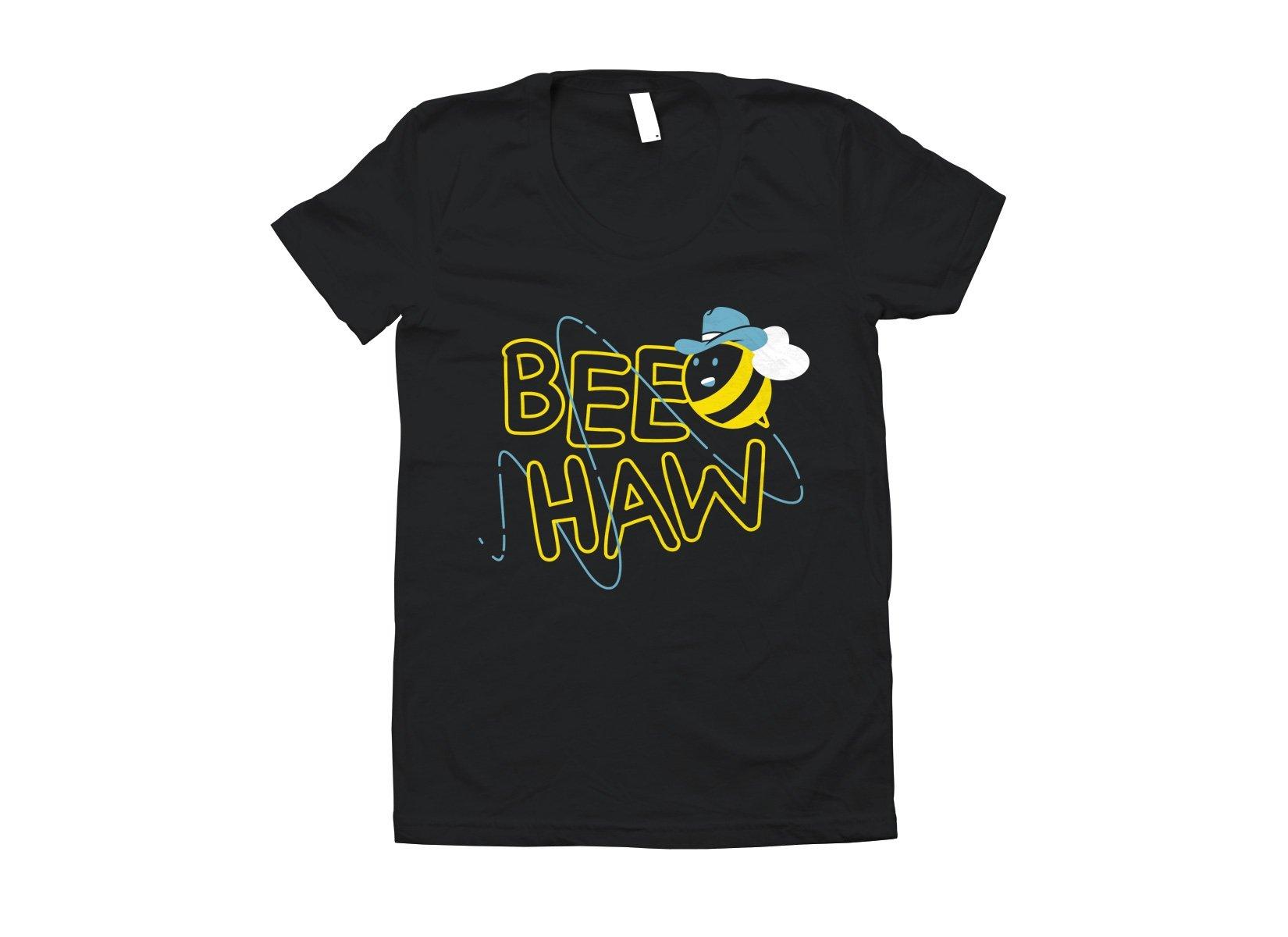 Bee Haw on Juniors T-Shirt