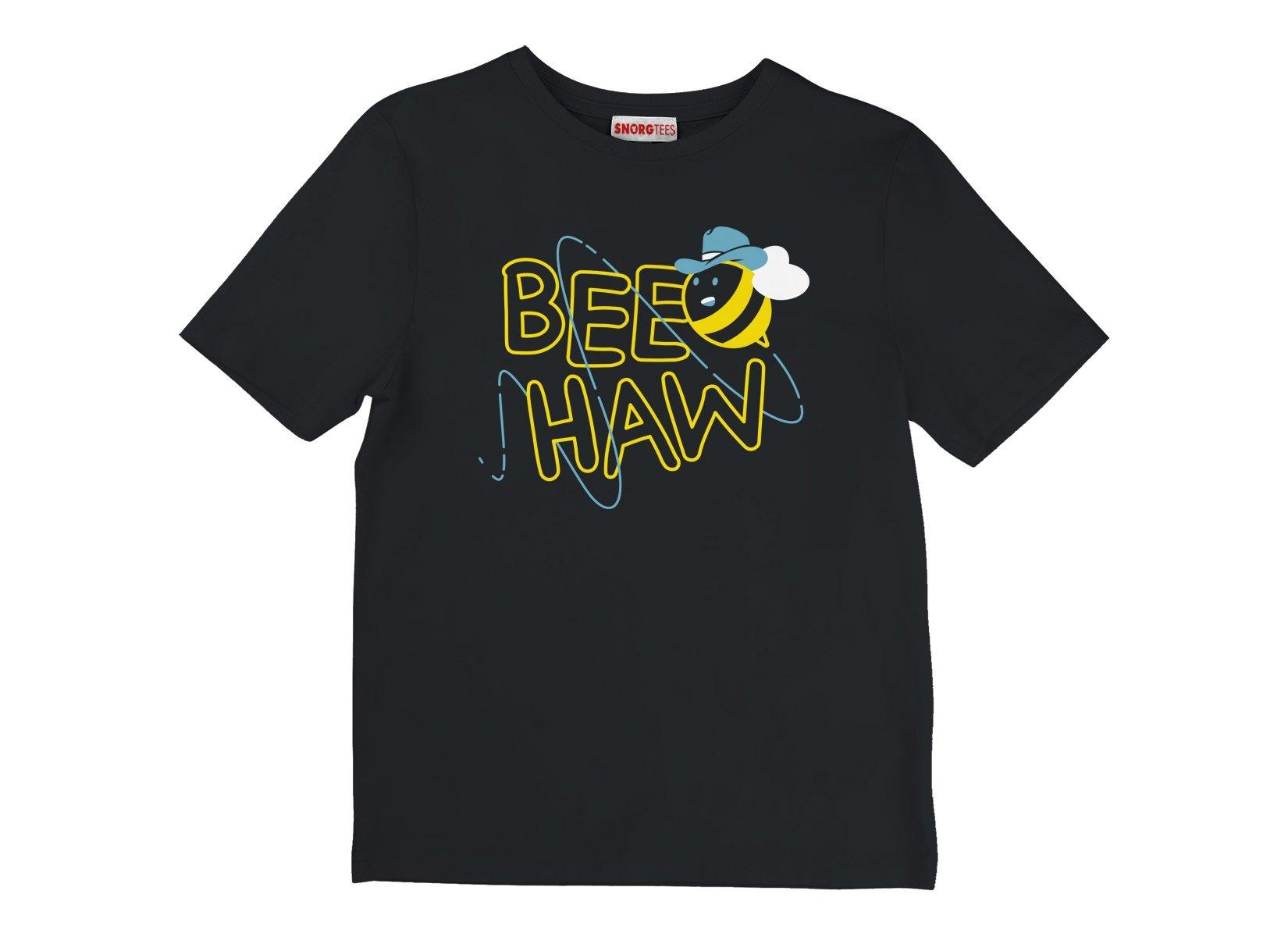 Bee Haw on Kids T-Shirt