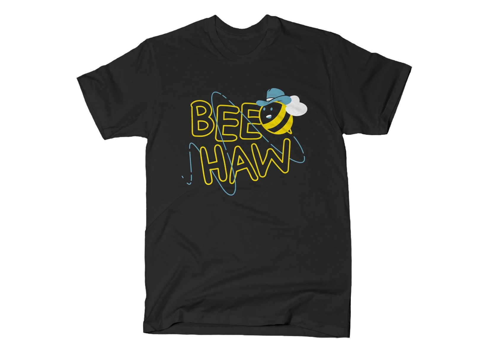 Bee Haw on Mens T-Shirt