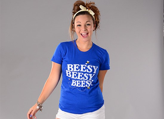 Beesy Beesy Beesy on Juniors T-Shirt