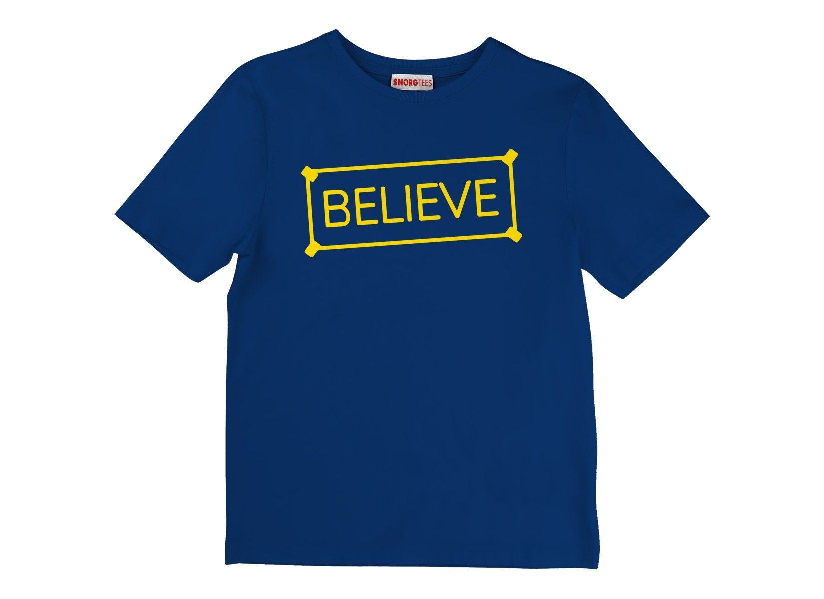 Believe Sign on Kids T-Shirt
