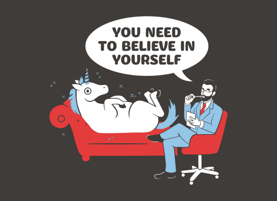 You Need To Believe In Yourself on Mens T-Shirt